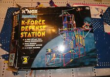 "K'NEX K-FORCE DEFENSE STATION  - HyperSpace 3"" Tall"