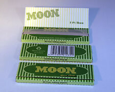 Moon Hemp 1.25 Cigarette Papers (3 Books; 40 Fine Rolling Papers per Book)
