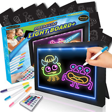 Erasable Tracing Doodle Light Board, Decoration lamp, 7 Color Mode, Awesome