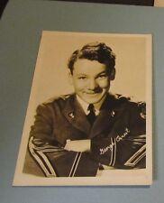 1940's George Ernest Child Movie Star Photo 5x7 Facsimile Autograph Roger Jones
