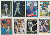 Lot of 23 Ryne Sandberg + Mark Grace Cards w/ rookie RC 1988 Donruss Topps Cubs