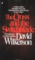 The Cross and the Switchblade paperback book by David Wilkerson FREE SHIPPING