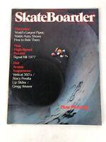 Rare Vintage Skateboarder Magazine Vol 3 No 6 July 1977 Dogtown skateboarding