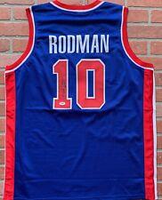 free shipping 089e0 e9279 Dennis Rodman NBA Original Autographed Jerseys for sale   eBay