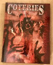 Coteries Vampire the Requiem HC World of Darkness LOOK!!