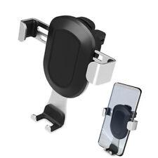 """3.6-6"""" Breite Air Vent Outlet Auto-Handyhalter für iPhone Samsung Metall Silber"""