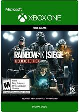 Tom Clancy's Rainbow Six Siege Deluxe Edition Global Digital Download (Xbox One)