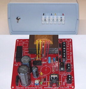 BATTERY ELIMINATOR diy KIT vintage miniature vacuum tube radio Power Supply set