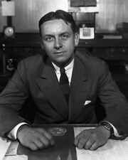 "New 8x10 Photo: Chicago Prohibition Agent Eliot Ness of ""The Untouchables"""