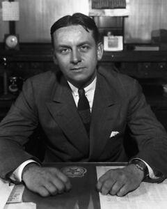 "New 8x10 Photo: Chicago Prohibition Agent Eliot Ness of ""The Untouchables"""