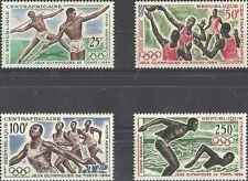Timbres Sports JO Centrafrique PA22/5 * lot 7915