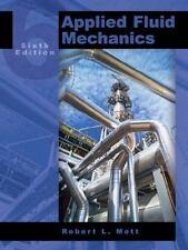 Applied Fluid Mechanics (6th Edition), Mott, Robert L., Good Book