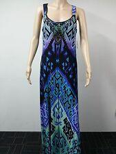 NEW - Donna Morgan - Size 8 - Sleeveless Beaded Neck Dress - Multicolor - $138