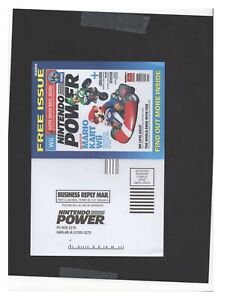 Mario Kart Wii Nintendo Power Card INSERT ONLY Authentic
