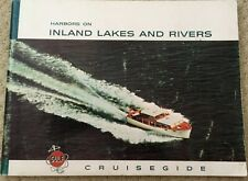 "VINTAGE NAUTICAL 1960 ""HARBORS on INLAND LAKES and RIVERS"" GULF CRUISEGIDE"