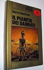 harrison  IL PIANETA DEI DANNATI nord oro ( 1983) cartonato 1 EDIZIONE
