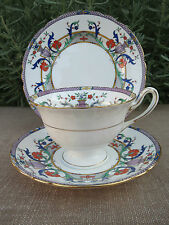 Shelley Trio Urns Flowers Gainsborough Cup Saucer Plate 11303 #SE546
