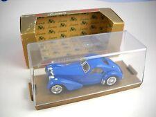 BRUMM BUGATTI 57 S COUPE Italy 1934-1936 Blue  HP 165 Series ORO Original Box