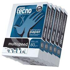 10.000 Blatt Kopierpapier A4 80g Druckerpapier f. Fax,Laser-/Tintenstrahldrucker