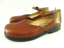 BIRKENSTOCK FOOTPRINTS Women 7-7.5 M EU 38 Brown Leather Mary Janes Flats Shoes