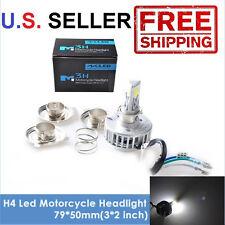 2000 lms 1pc Motorcycle Bike Car H4 BA20D H6M Hi/Lo Beam LED Headlight Lamp kits