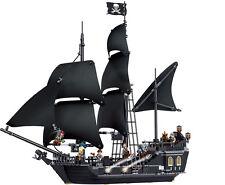The Black Pearl Pirates of Caribbean Pirates Ship Building Blocks Toys 804pcs