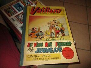 RELIURE  VAILLANT 1 SERIE n° 3 numéros  101 A 126 BEL ETAT 1947