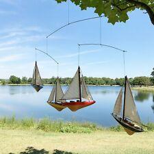 Sailboat Nursery Mobile Boat Nautical Hanging Decor