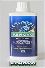 "RENOVO CANVAS SOFT TOP HOOD "" ULTRA PROOFER "" 500ML FOR TRIUMPH"