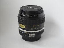 NIKON  Micro - NIKKOR 55mm  1:3,5 mont F modifié AI
