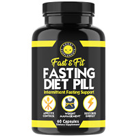 Angry Supplements Intermittent Fasting Diet Pill, Weight Loss , Fat Burner 60 ct