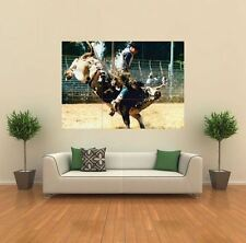 RODEO COWBOY BULL RIDING TEXAS  NEW GIANT POSTER WALL ART PRINT PICTURE X1397