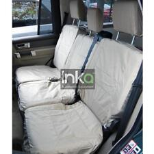 Land Rover Discovery 4 Rear Inka Tailored Waterproof Seat Covers Beige MY09-16