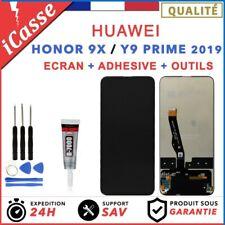 ECRAN LCD + VITRE TACTILE pour HUAWEI HONOR 9X et Y9 PRIME 2019 + OUTILS + COLLE