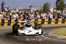 Carlos Reutemann Brabham BT44 Brazilian Grand Prix 1974 Photograph 2
