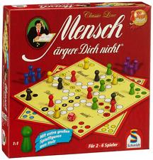 Schmidt Spiele Classic Line Mensch ärgere Dich nicht mit extragroßen S