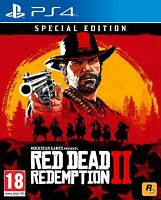 Red Dead Redemption 2 ( II ) - Rockstar Games - (Sony PlayStation 4, PS4)