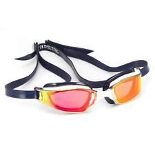 Michael Phelps XCEED Titanium Mirrored Lens Swim Goggles, Red/White/Blue (USA)