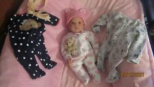 Lee Middleton doll by Reva Schick Signed Numbered Weighted With 3 Outfits More