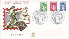 Enveloppe 1er jour FDC n°1227- 1981 - 7ème émission Sabine