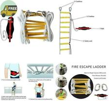 Emergency Fire Escape Ladder 32ft For 3- 4 Story Homes.