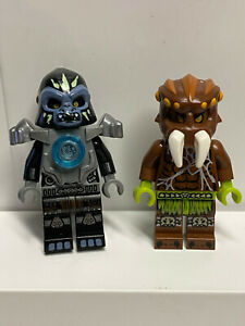 100/% Real Lego Chima Sparratus Minifigure 70138