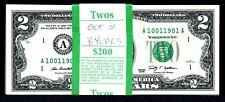 $2 2009 Birth Year Note October 1, 19xx, choose your year, Gem. One note per bid