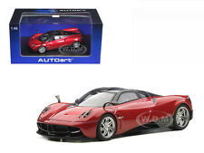 PAGANI HUAYRA METALLIC RED 1/43 DIECAST CAR MODEL BY AUTOART 58208