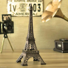 Retro Statue Figurine Paris Eiffel Tower Model Decor Home Christmas Gift 10cm