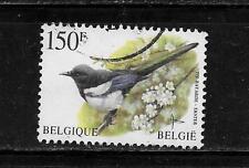 BELGIUM BELGIAN SC #1645 1997 150 FRANC BIRD DEFIN POSTALLY USED SINGLE STAMP