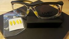 Uvex Safety By Honeywell SW06 Titmus 18560 Yellow Black Clr Eyeglass Frame Only