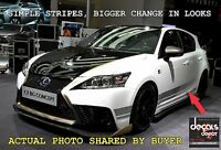 Vinyl Decal Stripe Fits Cars Like Lexus Toyota Honda Chevy Ford Nissan GMC Dodge