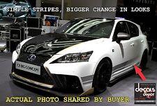 Vinyl Decal Stripe Fits Cars Like Lexus Toyota Honda Chevy Ford Nissan GMC Dodge