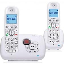 Alcatel XL385 Duo Seniorentelefon mit AB weiss wie NEU !!!